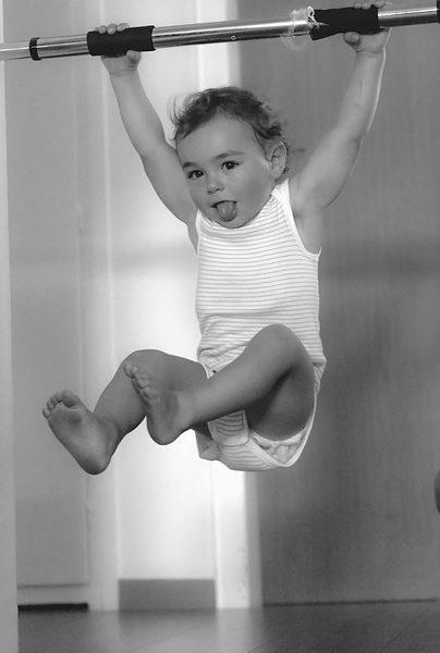 Attrezzi per il fitness in casa dei bambini